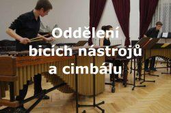 oddělení bicích nástrojů