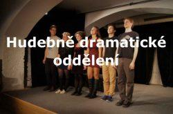 hudebně dramatické oddělení