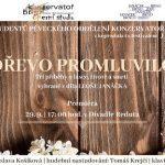 pozvánka na operní představení Dřevo promluvilo
